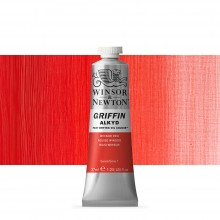 Winsor & Newton : Grffin : Alkyd Oil Paint : 37ml : Winsor Red