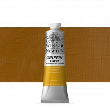 Winsor & Newton : Grffin : Alkyd Oil Paint : 37ml : Yellow Ochre