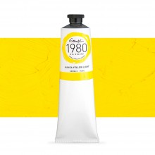 Gamblin : 1980 Oil Paint : 150ml : Hansa Yellow Light
