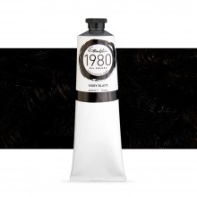 Gamblin : 1980 Oil Paint : 150ml : Ivory Black