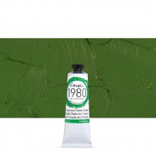 Gamblin : 1980 Oil Paint : 37ml : Chromium Oxide Green