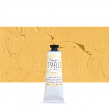 Gamblin : 1980 Oil Paint : 37ml : Naples Yellow