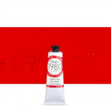 Gamblin : 1980 Oil Paint : 37ml : Napthol Red