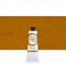Gamblin : 1980 Oil Paint : 37ml : Yellow Ochre