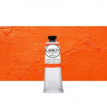 Gamblin : Artist Oil Paint : 37ml : Cadmium Orange Deep