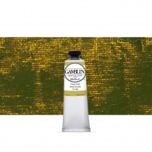 Gamblin : Artist Oil Paint : 37ml : Green Gold