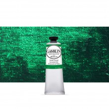 Gamblin : Artist Oil Paint : 37ml : Phthalo Emerald