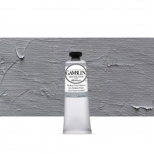 Gamblin : Artist Oil Paint : 37ml : Portland Grey Medium