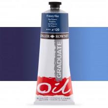 Daler Rowney : Graduate Oil Paint : 200ml : Primary Blue