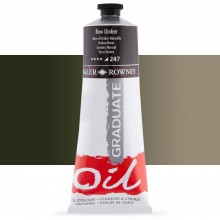 Daler Rowney : Graduate Oil Paint : 200ml : Raw Umber