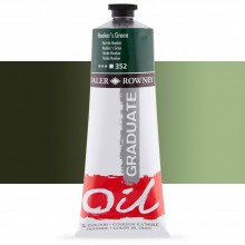 Daler Rowney : Graduate Oil Paint : 200ml : Hookers Green