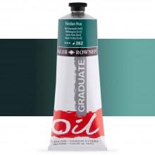 Daler Rowney : Graduate Oil Paint : 200ml : Viridian Hue