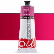Daler Rowney : Graduate Oil Paint : 200ml : Permanent Magenta