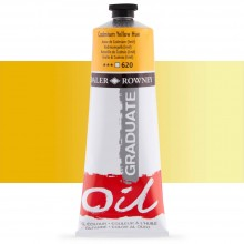 Daler Rowney : Graduate Oil Paint : 200ml : Cadmium Yellow Hue