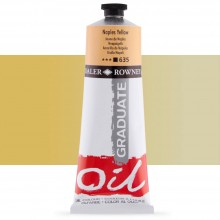 Daler Rowney : Graduate Oil Paint : 200ml : Naples Yellow