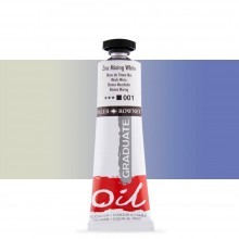 Daler Rowney : Graduate Oil Paint : 38ml : Zinc Mixing White