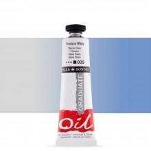 Daler Rowney : Graduate Oil Paint : 38ml : Titanium White