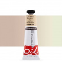 Daler Rowney : Graduate Oil Paint : 38ml : Buff Titanium