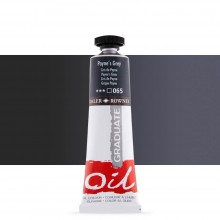 Daler Rowney : Graduate Oil Paint : 38ml : Paynes Grey