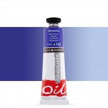 Daler Rowney : Graduate Oil Paint : 38ml : Ultramarine