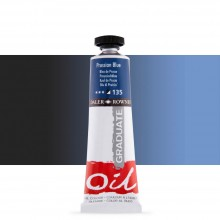 Daler Rowney : Graduate Oil Paint : 38ml : Prussian Blue