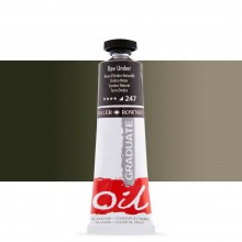 Daler Rowney : Graduate Oil Paint : 38ml : Raw Umber