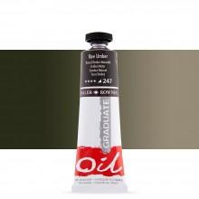 Daler Rowney : Graduate Oil Paint : 38ml : Raw Umber
