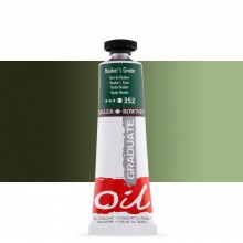 Daler Rowney : Graduate Oil Paint : 38ml : Hookers Green