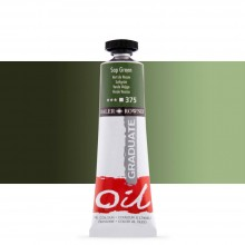 Daler Rowney : Graduate Oil Paint : 38ml : Sap Green
