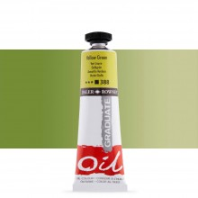 Daler Rowney : Graduate Oil Paint : 38ml : Yellow Green