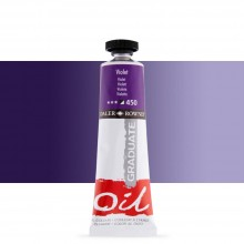 Daler Rowney : Graduate Oil Paint : 38ml : Violet