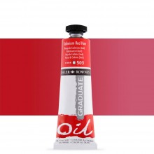 Daler Rowney : Graduate Oil Paint : 38ml : Cadmium Red Hue