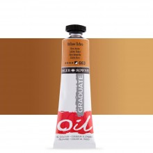 Daler Rowney : Graduate Oil Paint : 38ml : Yellow Ochre