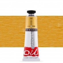 Daler Rowney : Graduate Oil Paint : 38ml : Gold