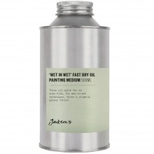 Jacksons : Wet in Wet Fast Dry Oil Painting Medium : 500ml : By Road Parcel Only