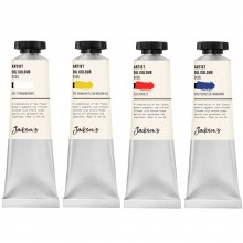 Jackson's : Artist Oil Paint : 60ml : Set of 4