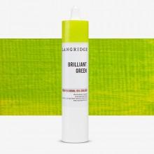 Langridge : Oil Paint : 300ml : Brilliant Green
