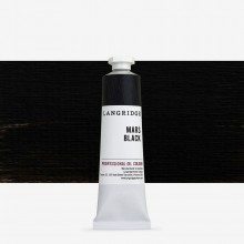 Langridge : Oil Paint : 40ml : Mars Black