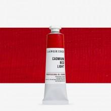 Langridge : Oil Paint : 40ml : Cadmium Red Light