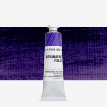 Langridge : Oil Paint : 40ml : Ultramarine Violet
