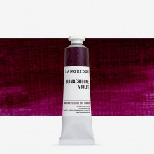 Langridge : Oil Paint : 40ml : Quinacridone Violet