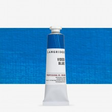 Langridge : Oil Paint : 40ml : Video Blue
