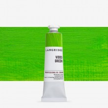 Langridge : Oil Paint : 40ml : Video Green
