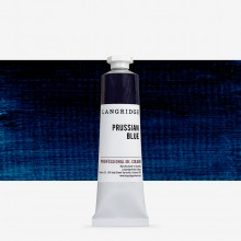 Langridge : Oil Paint : 40ml : Prussian Blue