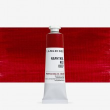 Langridge : Oil Paint : 40ml : Naphthol Red Deep