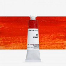 Langridge : Oil Paint : 40ml : Azo Orange