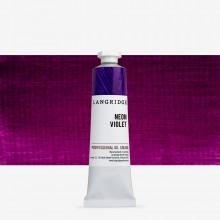 Langridge : Oil Paint : 40ml : Neon Violet