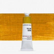 Langridge : Oil Paint : 40ml : Yellow Ochre