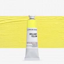 Langridge : Oil Paint : 40ml : Zinc Yellow