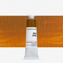 Langridge : Oil Paint : 40ml : Gold Oxide